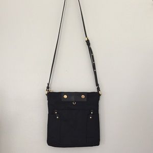 Black and Gold Marc Jacobs Crossbody Bag